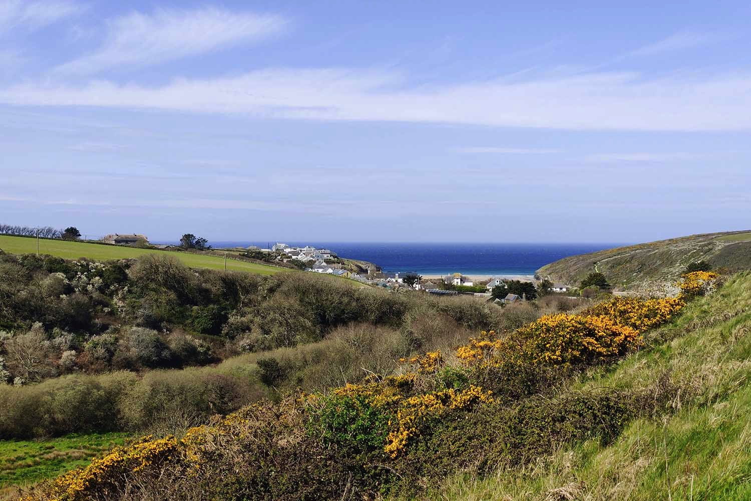 Porthcothan Valley
